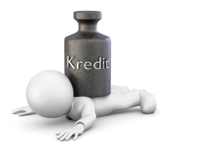 hartz 4: Credit weighs on figure