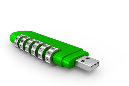 encode: USB encode green
