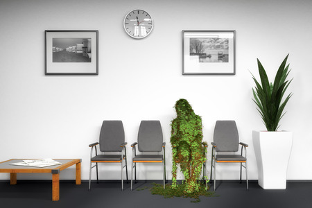 waiting room Standard-Bild