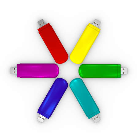 mass storage: USBstick colorful