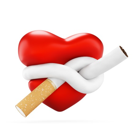 fag: threatened heart Stock Photo
