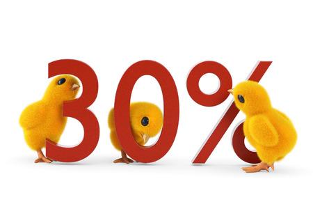 chick: Chick 30 percent