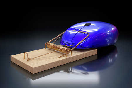 trap: Computer mouse in a trap