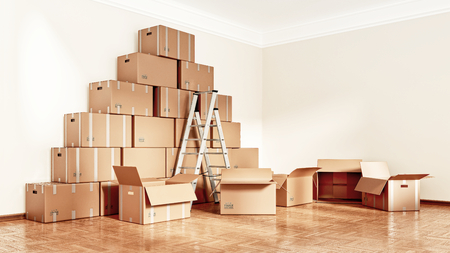 3D illustration - when moving