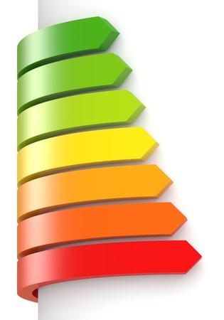 eficiencia: Concepto de eficiencia energ�tica Foto de archivo