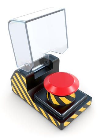 panic button: Panic Button Red