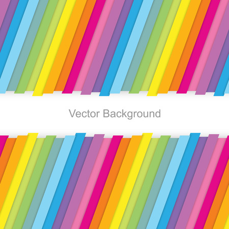 Colorful striped seamless background