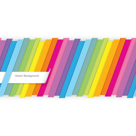 strip design: Colorful striped seamless background
