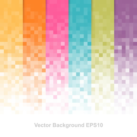 color pattern: Abstract pixel background