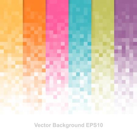 Abstrakcyjne pikseli tła Ilustracje wektorowe