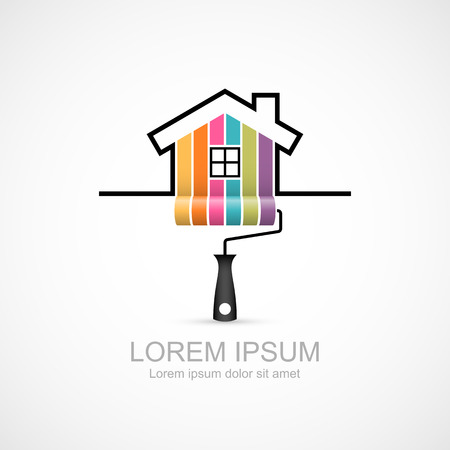 House renovation icon Ilustrace