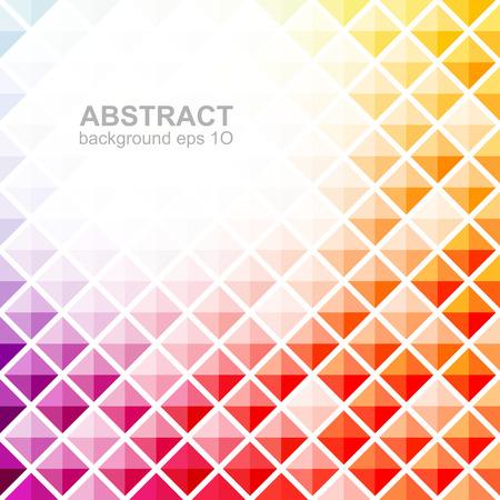 Abstract colorful square pattern background Illusztráció