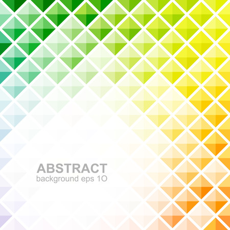 Abstract colorful square pattern background Illustration
