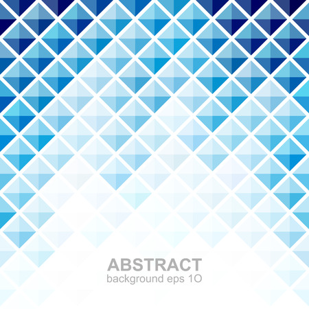 pixelated: Abstract blue square pattern background