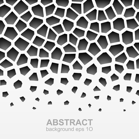 grayscale: Abstract grayscale geometric pattern