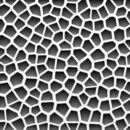 em tons de cinza: Teste padr�o geom�trico abstrato em tons de cinza