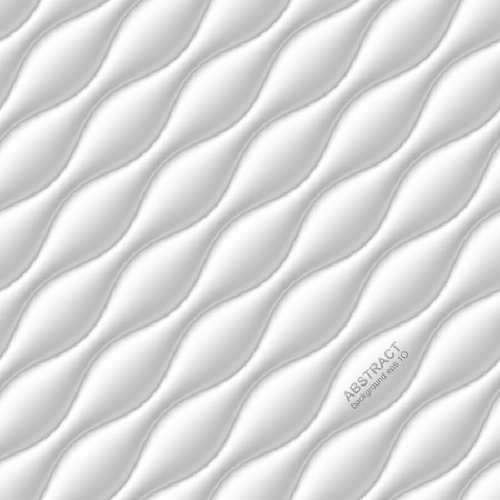 gypsum: Seamless wavy white background