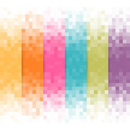 抽象的なピクセルの背景