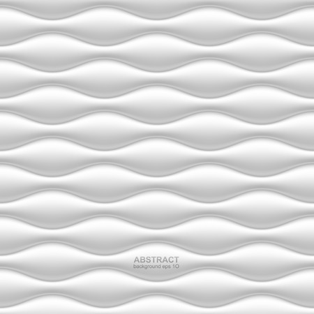 Seamless wavy white background