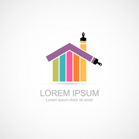 House renovation icon  イラスト・ベクター素材