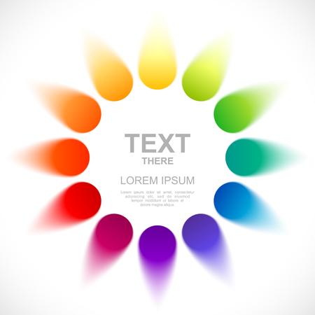 chromatic: Abstract color wheel