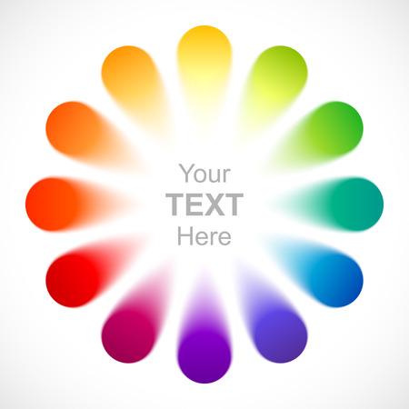 wheel: Abstract color wheel