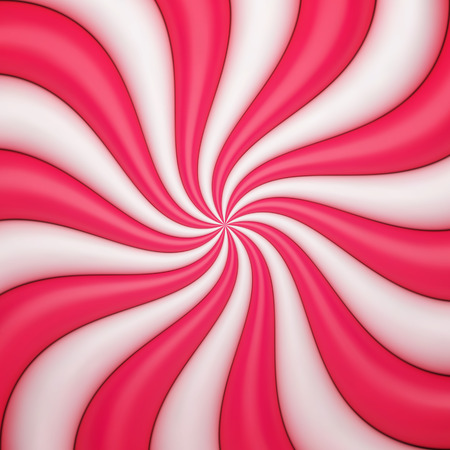 swirl background: Abstract candy background Illustration