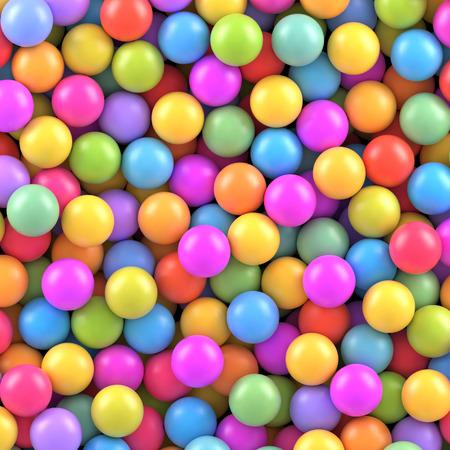 las bolas de colores de fondo Ilustración de vector