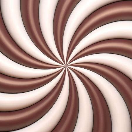 Abstract chocolate and cream background Illusztráció
