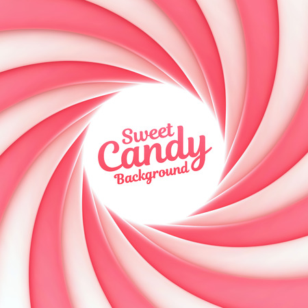 Sweet candy background with place for your content Illustration
