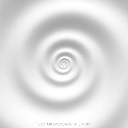 water flow: Fibonacci spiral white abstract background