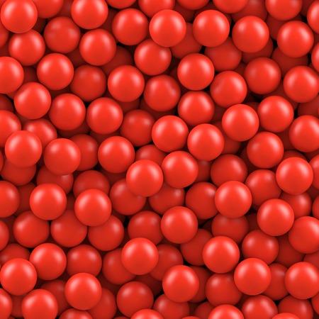 Red balls background