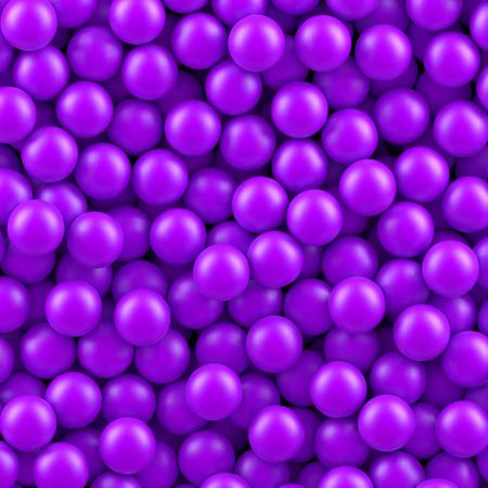 Purple balls background