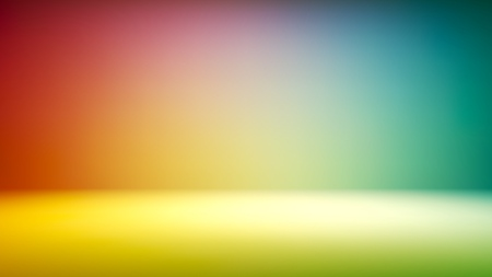 Colorful gradient studio backdrop with empty space for your content. Vector illustration