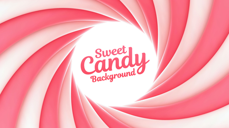 Sweet candy background with place for your content. Vector illustration
