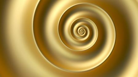 Abstrait spirale dorée de fibonacci. nombre d'or