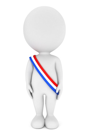 campaigns: 3d white people become the french president