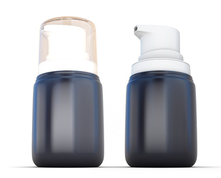 intimate: Small Shaving foam Aerosol Spray 3D Bottle Can. Ready For Your Design.