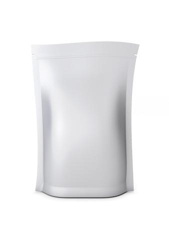 白い背景に分離されたバルク製品の包装。3 d イラスト。 写真素材