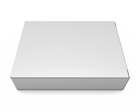 packing boxes: Packing boxes isolate on white background. 3d illustration.