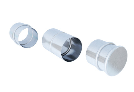 adapters: Hose adapters isolated. 3d rendering.