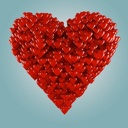 18256070-des-centaines-de-petits-coeurs-sont-formant-un-grand-coeur