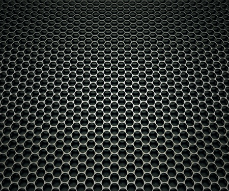 Texture made of speaker's grill. Stock Photo - 19745708