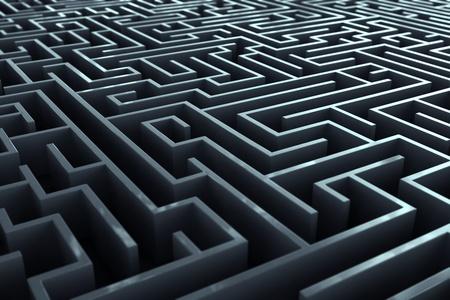 laberinto: Complicated pasillos laberinto.