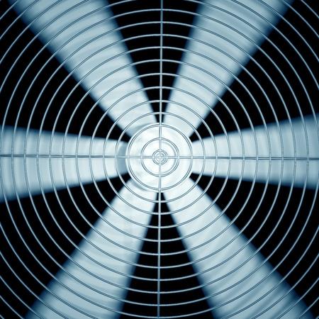 Spinning fan closeup  photo