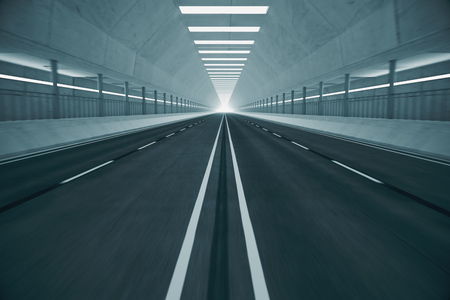 transportaion: Underground tunnel. May represent movement, transportaion or urban communication.