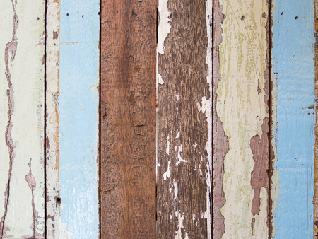 painted wood: Old painted wood plank.