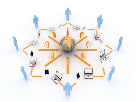 internet concept Stock Photo - 3584253