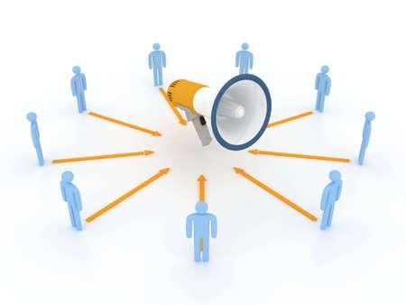 logo marketing: news concept