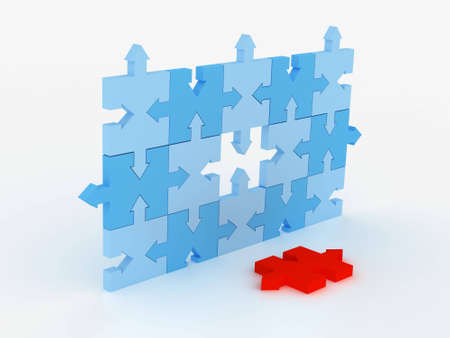 puzzle concept Stock Photo - 4077331
